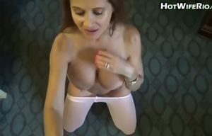 Hotwife wifey in motel #19